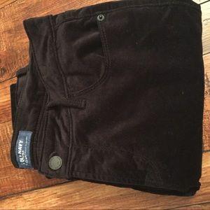 Old Navy velvet skinny jeans